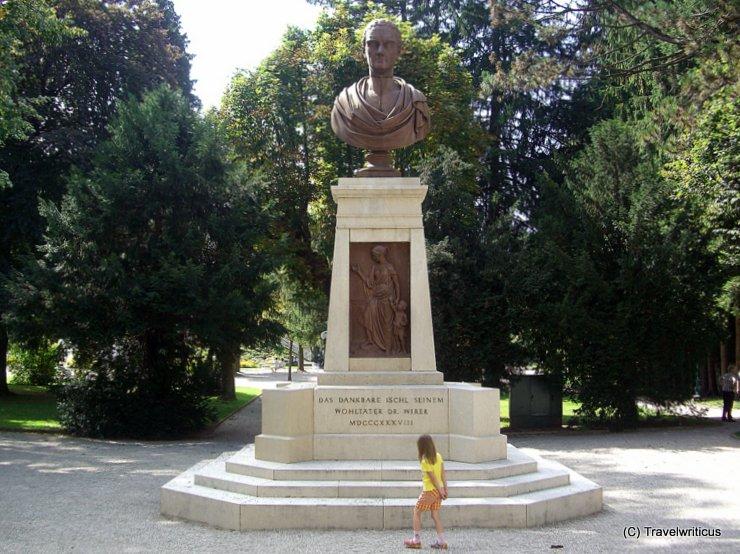 Denkmal für Dr. Franz Wirer In Bad Ischl, Österreich