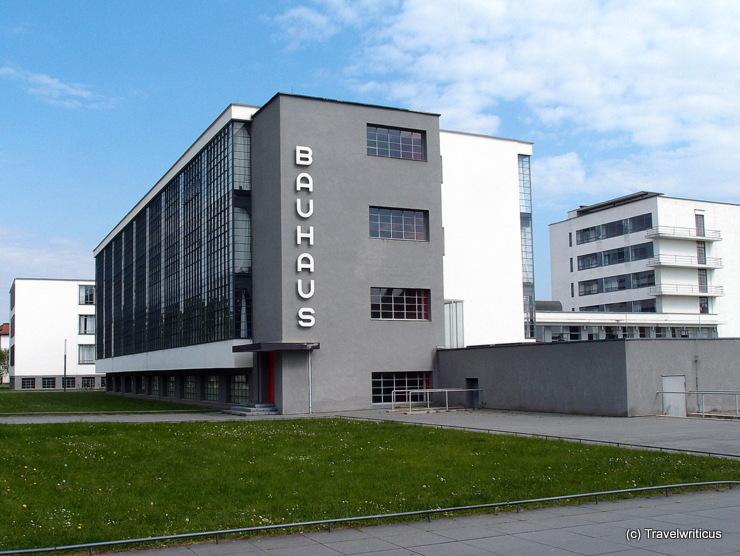 Bauhausgebäude in Dessau-Roßlau