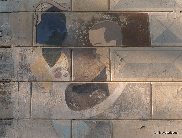"Wandmalerei am ""Alten Wettbüro"" in Dresden"