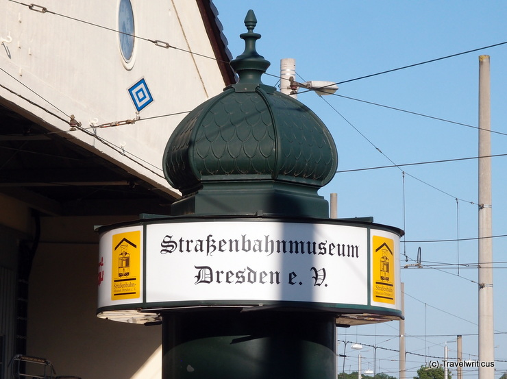 Straßenbahnmuseum in Dresden