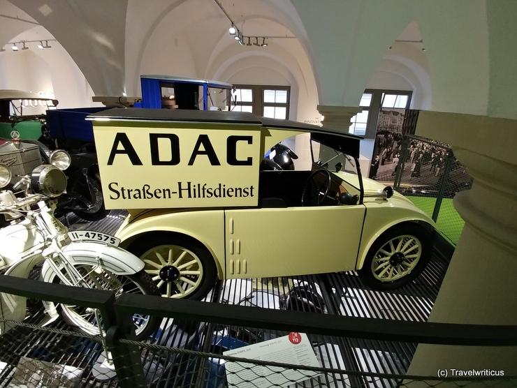 ADAC Wagen im Verkehrsmuseum Dresden