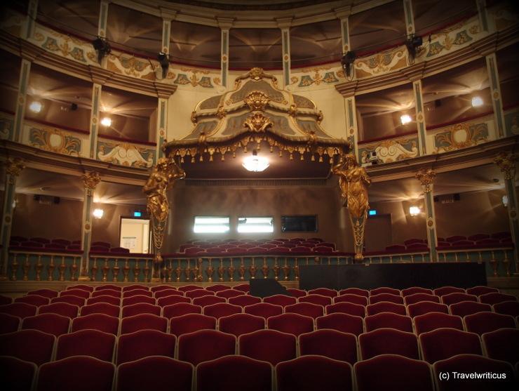 Zuschauerraum des Markgrafentheaters