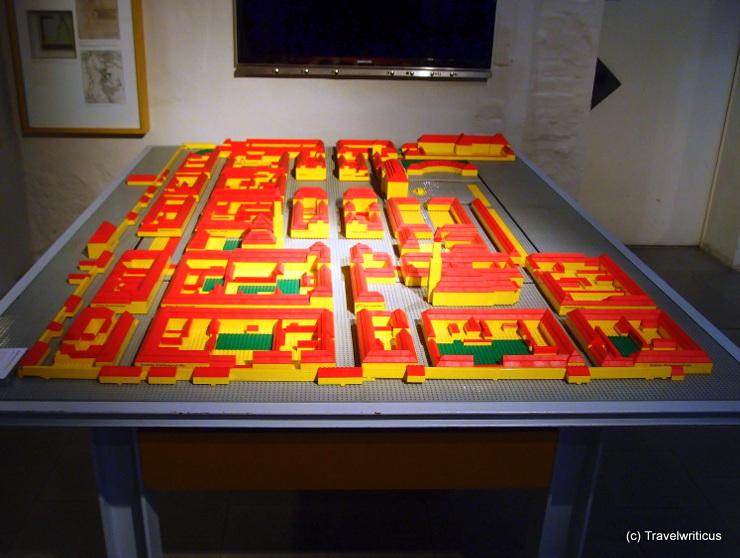 Modell der Neustadt im Stadtmuseum Erlangen