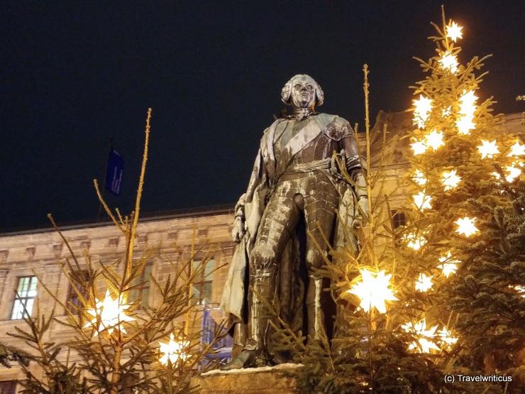 Markgraf Friedrich von Brandenburg-Bayreuth während der Erlanger Waldweihnacht
