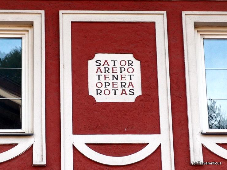 Sator-Quadrat in Golling an der Salzach, Österreich
