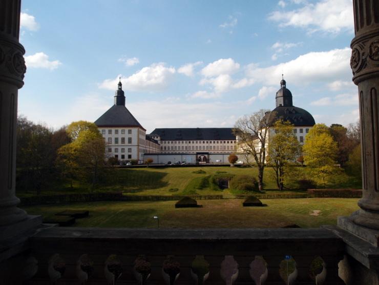 Schloss Friedenstein in Gotha, Deutschland