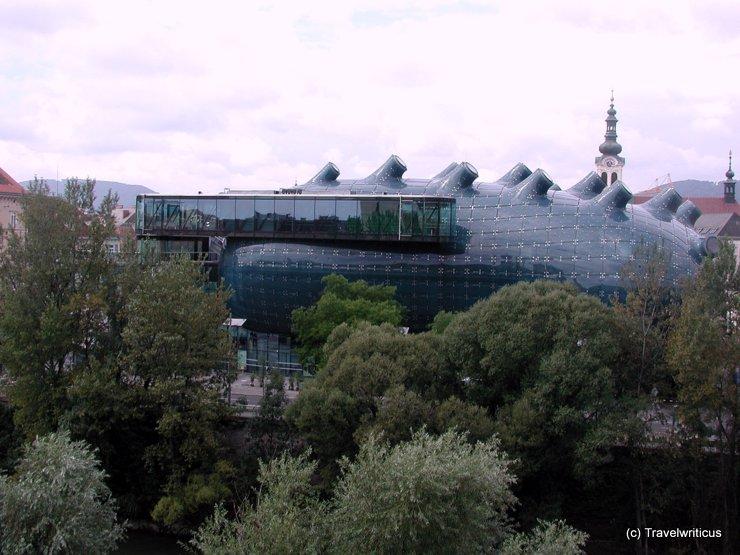 Blick auf das Kunsthaus von Kaufhaus Kastner & Öhler