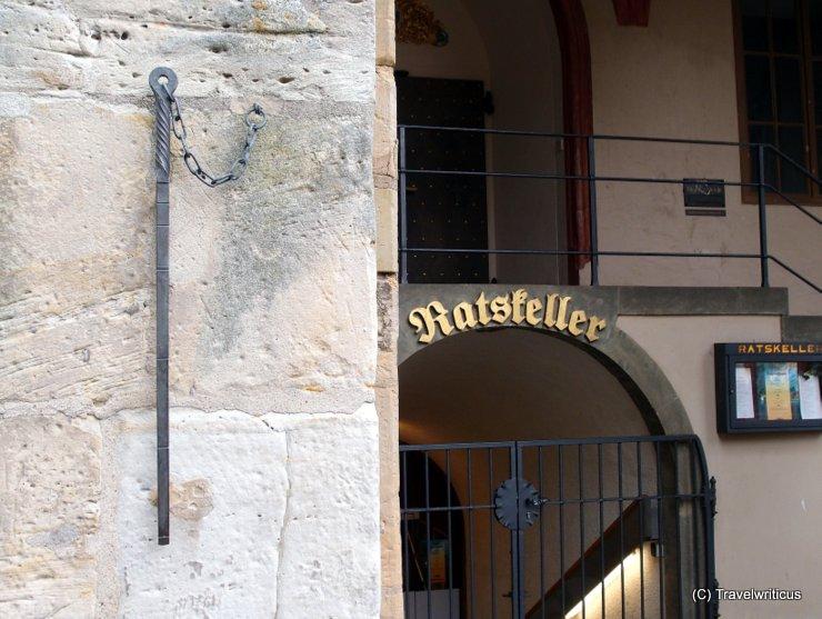 Hildesheimer Elle am Rathaus in Hildesheim, Deutschland
