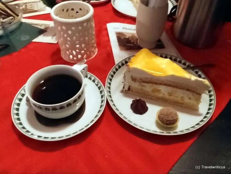 Torte im Museumscafe Philisterium in Jena