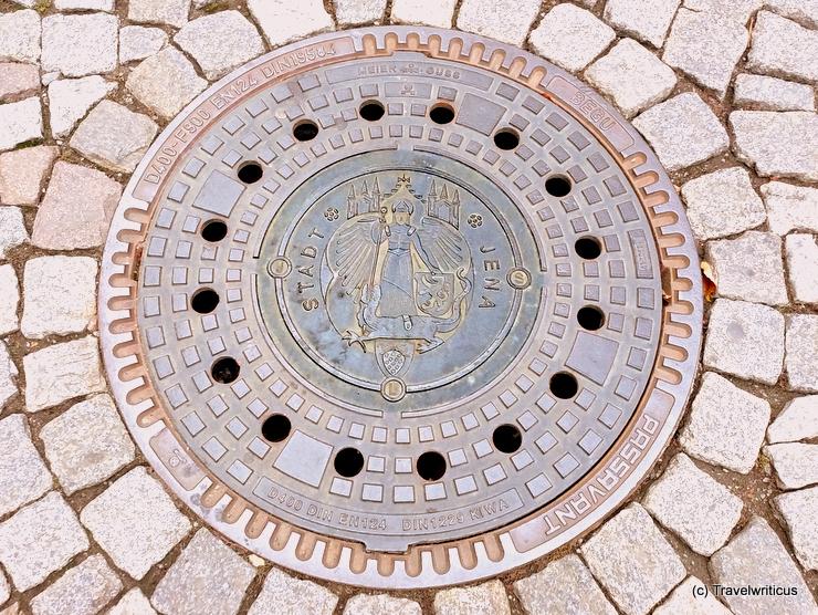Kanaldeckel in Jena