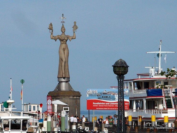 Statue 'Imperia' in Konstanz, Deutschland