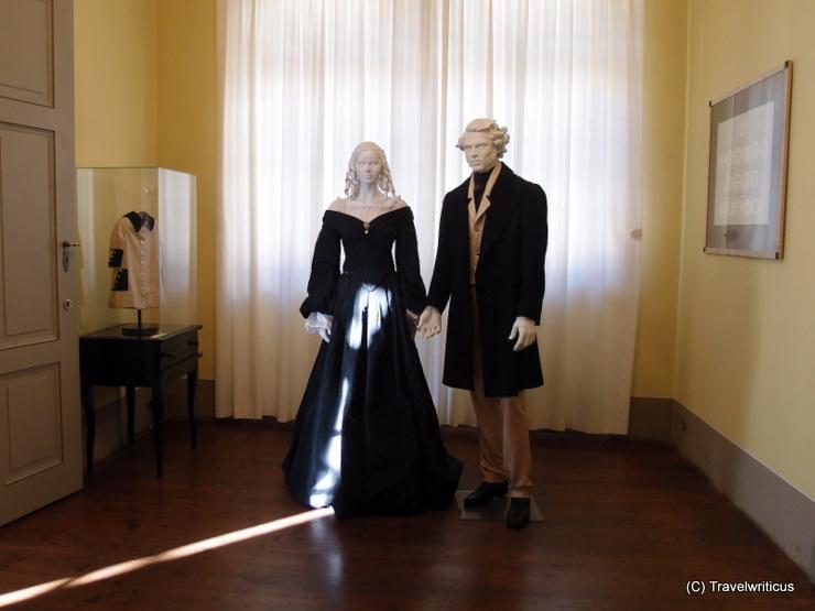 Figurinnen im Mendelssohn-Haus