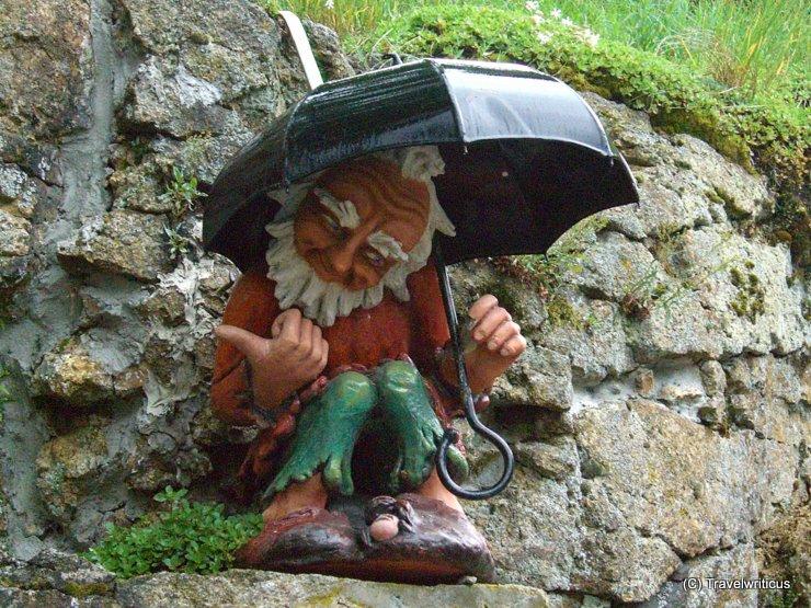 Gartenzwerg am Pöstlingberg in Linz, Österreich