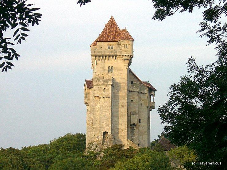 Burg Liechtenstein in Maria Enzersdorf, Österreich