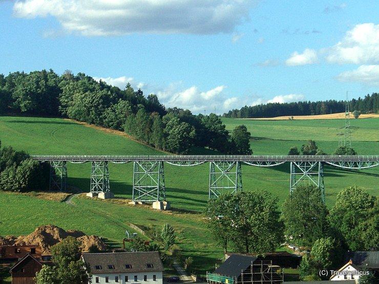 Markersbacher Viadukt bei Markersbach, Deutschland