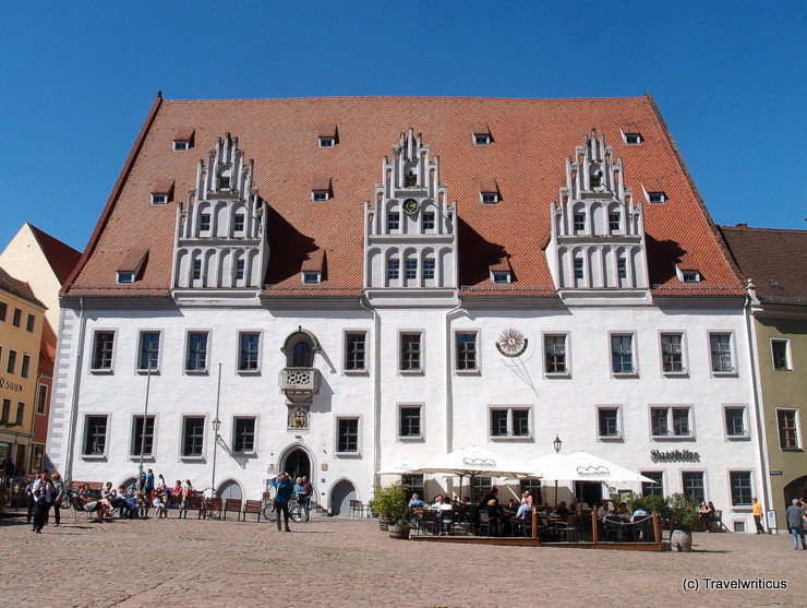 Spätgotisches Rathaus in Meißen