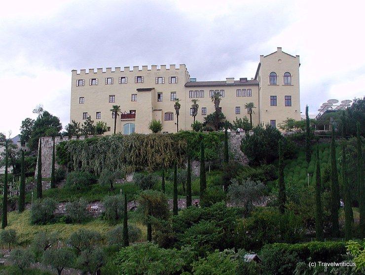 Gartenansicht von Schloss Trauttmansdorff