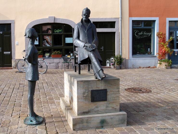 Denkmal für Friedrich Nietzsche in Naumburg (Saale)