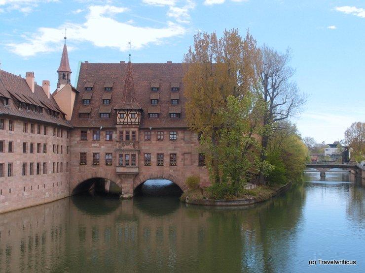 Heilig-Geist-Spital in Nürnberg, Deutschland
