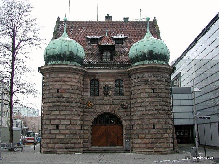 Zeughaus in Nürnberg, Deutschland