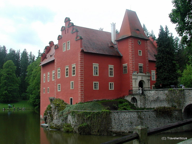 Schloss Červená Lhota in Pluhův Žďár