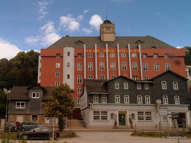 Haus des Volkes in Probstzella