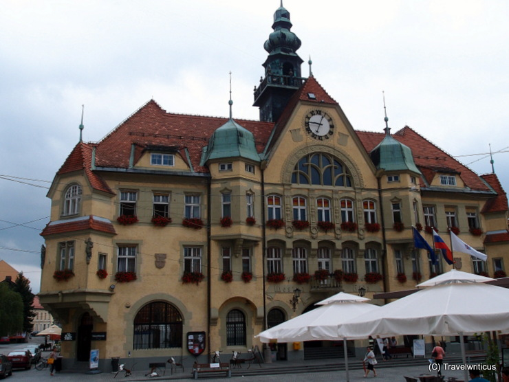 Neues Rathaus in Ptuj