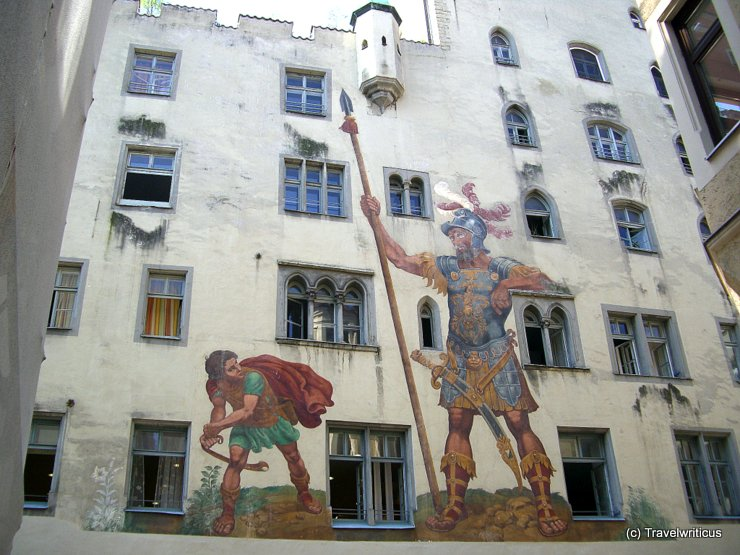 Vorderansicht des Goliathhauses