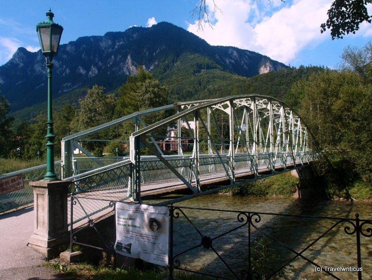 Fußbrücke in Reichenau an der Rax