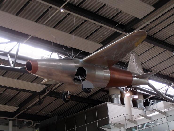 Heinkel He 178 (Rekonstruktion) in Rostock-Laage