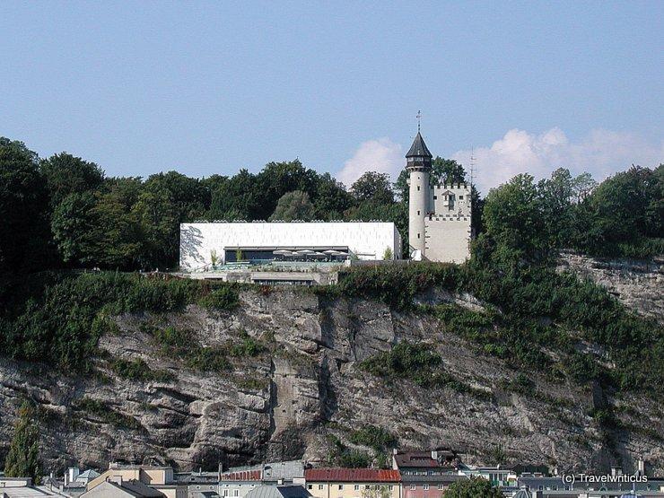 Das Museum der Moderne auf dem Mönchsberg in Salzburg