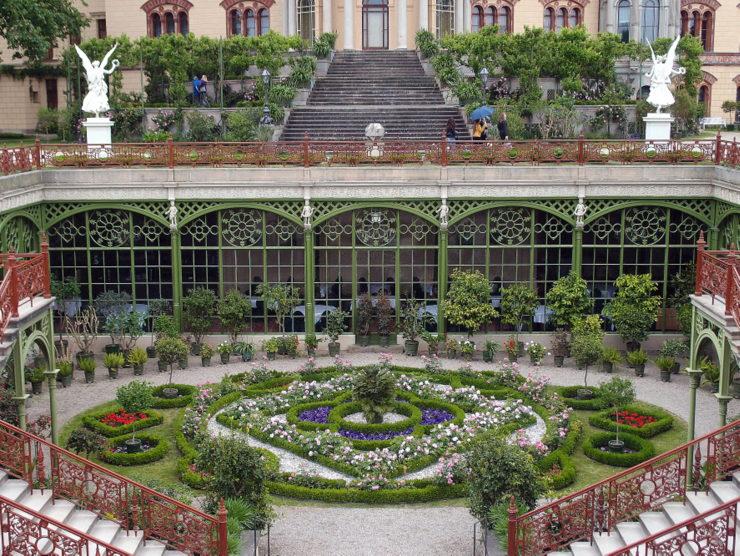 Orangerie in Schwerin, Deutschland