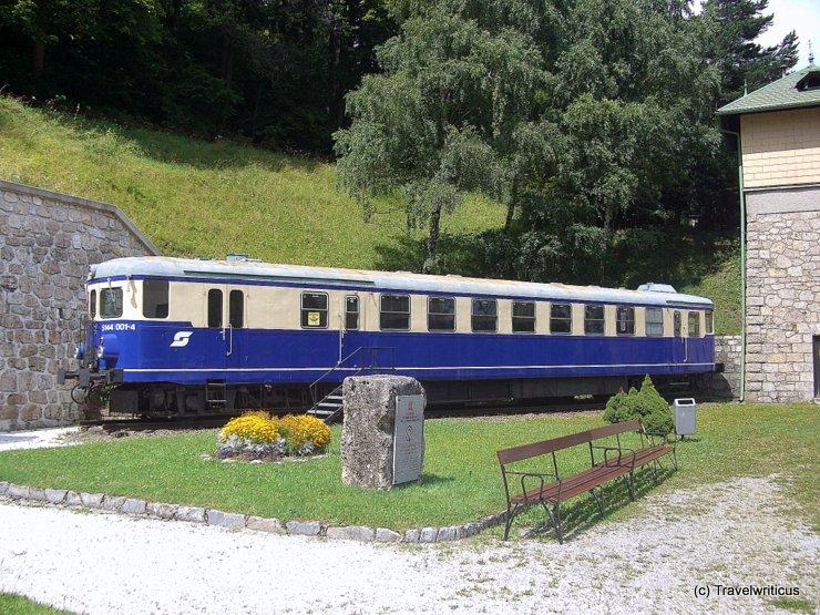 Triebwagen ÖBB 5144 am Bahnhof Semmering