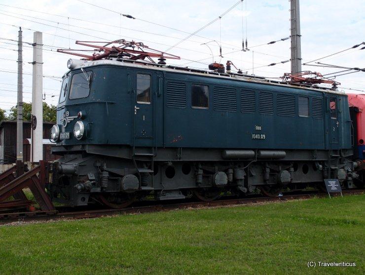 Elektrolokomotive ÖBB 1040.09 in Sigmun