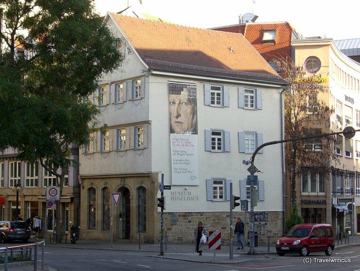 Museum Hegel-Haus in Stuttgart, Deutschland