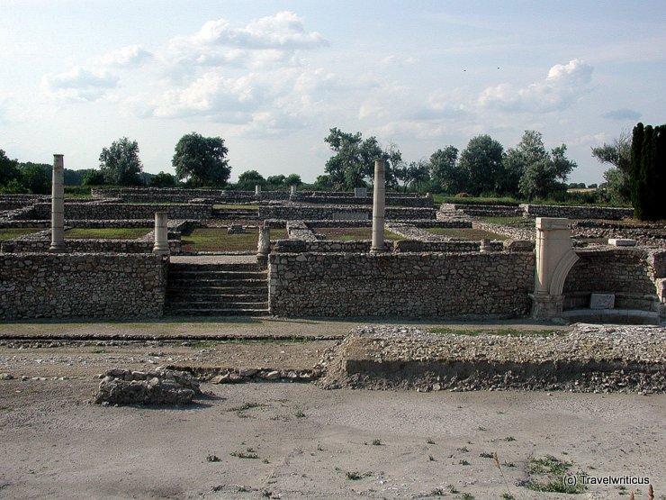 Archäologiepark Gorsium in Tác, Ungarn