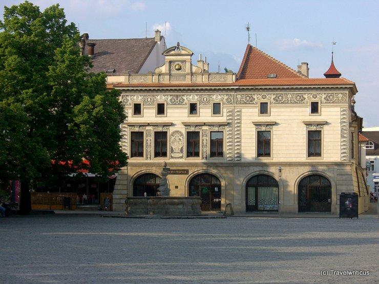 Alte Apotheke am Marktplatz von Uherský Brod