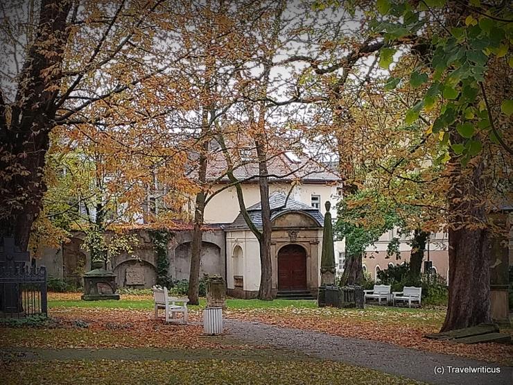 Kassengewölbe am Jakobsfriedhof in Weimar