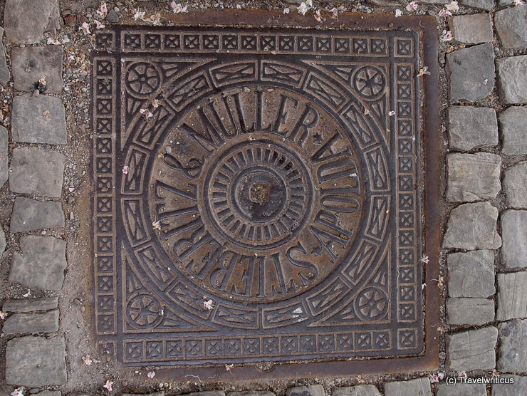 Kanaldeckel Stieberitz&Müller in Weimar