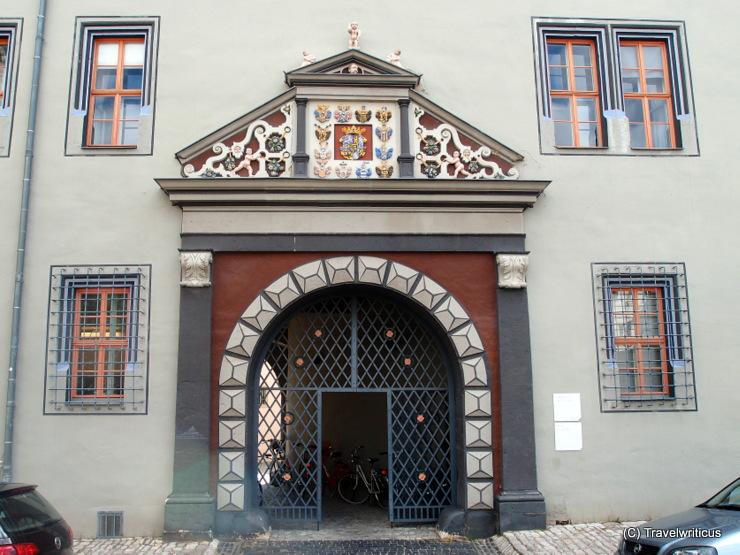 Renaissancetor am Roten Schloss in Weimar