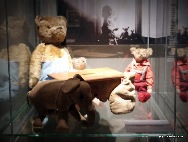 Teddybären im Stadtmuseum Weimar