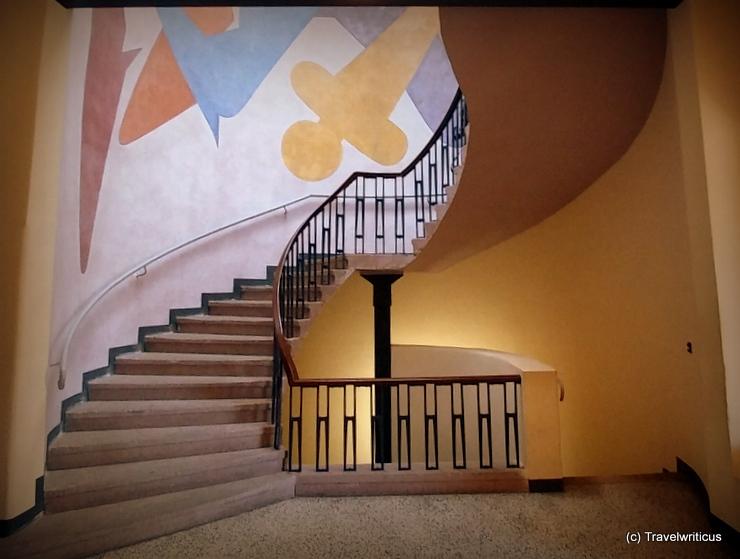 Werk von Oskar Schlemmer im Van-de-Velde-Bau in Weimar