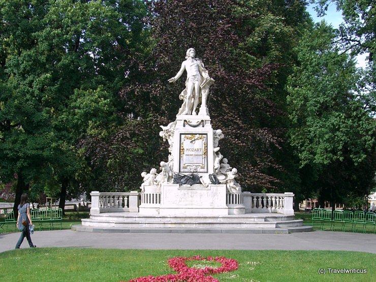 Mozart-Denkmal in Wien, Österreich
