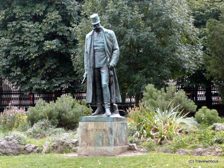 Denkmal für Franz Joseph I. im Wiener Burggarten