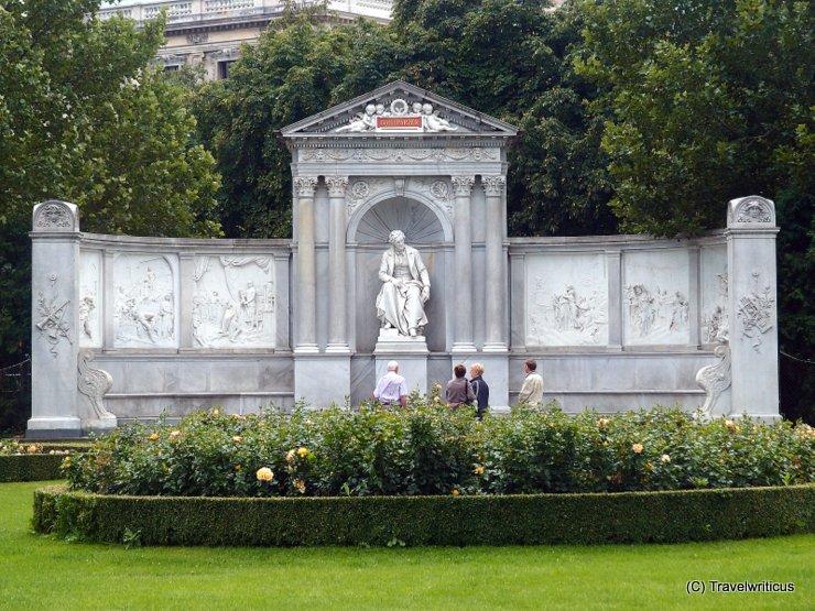 Denkmal für Franz Grillparzer im Wiener Volksgarten