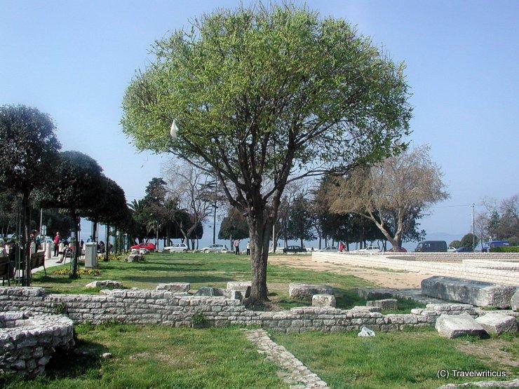 Römisches Forum in Zadar, Kroatien